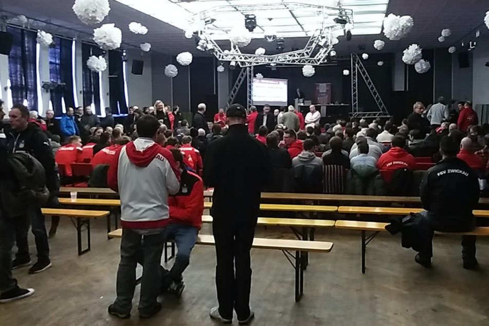 Mitgliederversammlung des FSV Zwickau.