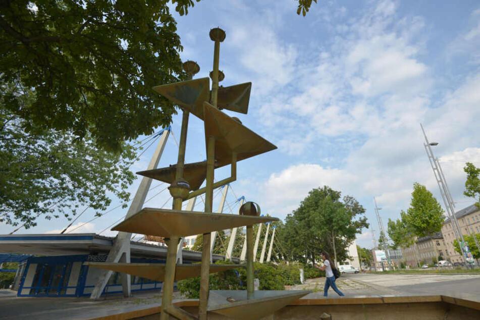 Chemnitz: Überraschender Zufluss für den Klapperbrunnen