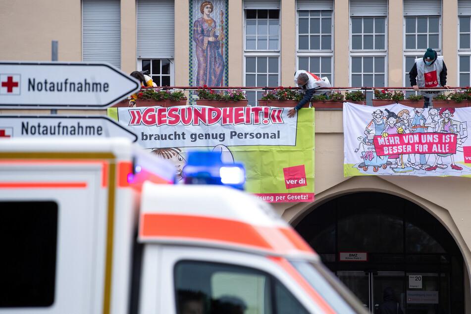 NRW: Verdi ruft zu Warnstreiks im Gesundheitswesen auf