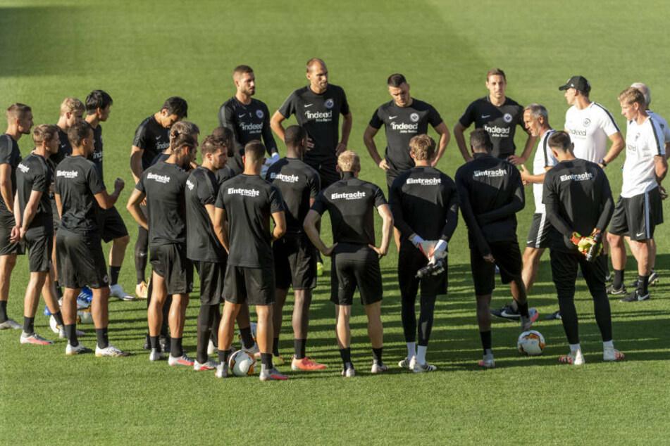 Eintracht Frankfurt befindet sich gerade in der Vorbereitung für die Saison 2020/21 (Archivbild).