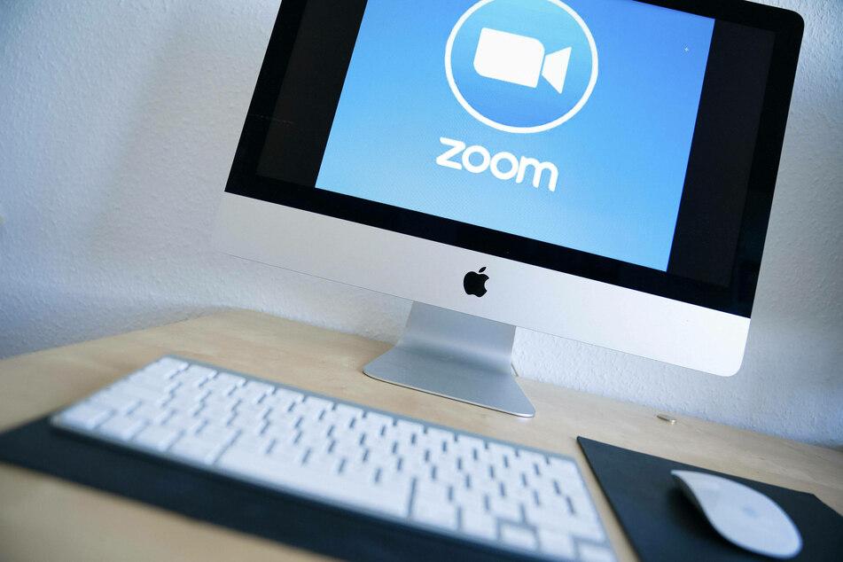 Zoom meetings are a part of the day-to-day for many, but it might be causing psychological problems (stock image).