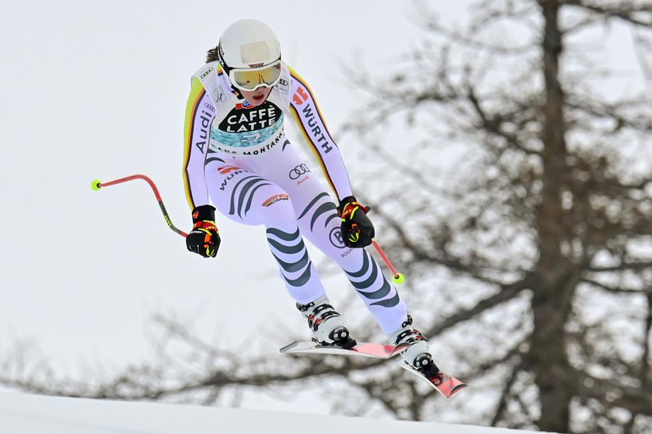 Heim-Weltcup der Ski-Damen in Garmisch: Rennfahrerin Weidle geschlagen