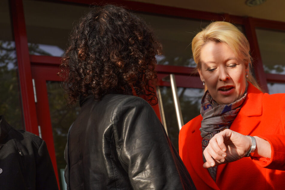 Zeit für Überzeugungskraft: Giffey und FDP wollen die Grünen für die Ampel begeistern