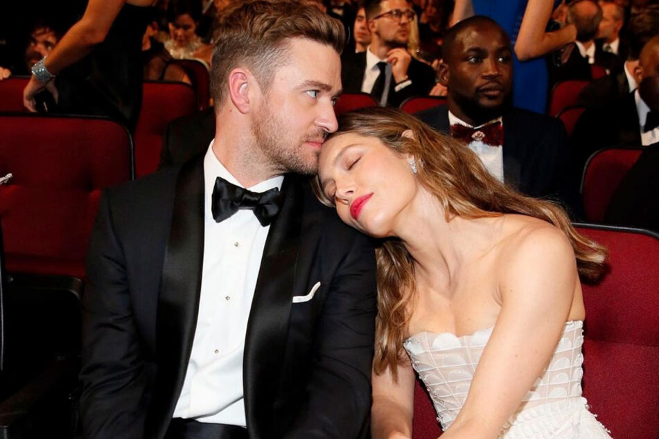 Jessica Biel reacts after Justin Timberlake's apology to ex Britney Spears