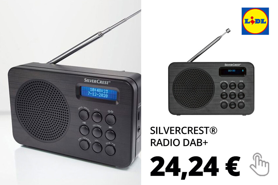 SILVERCREST® Radio DAB+ Taschenradio »SDR 1.5 A«