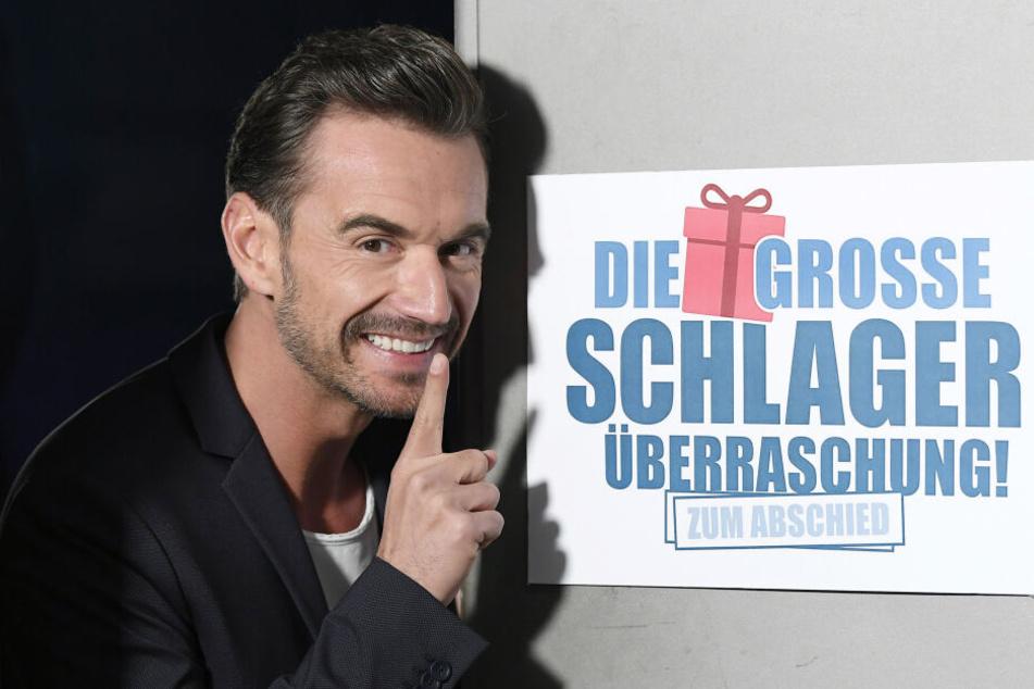 Moderator Florian Silbereisen (38) leitete die Überraschungs-Show ein.