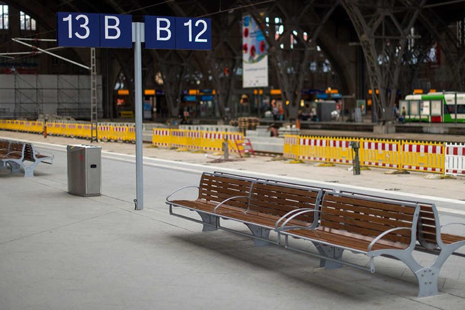 Wegen Bauarbeiten wird der Leipziger Hauptbahnhof vom 20. bis 24. September voll gesperrt.