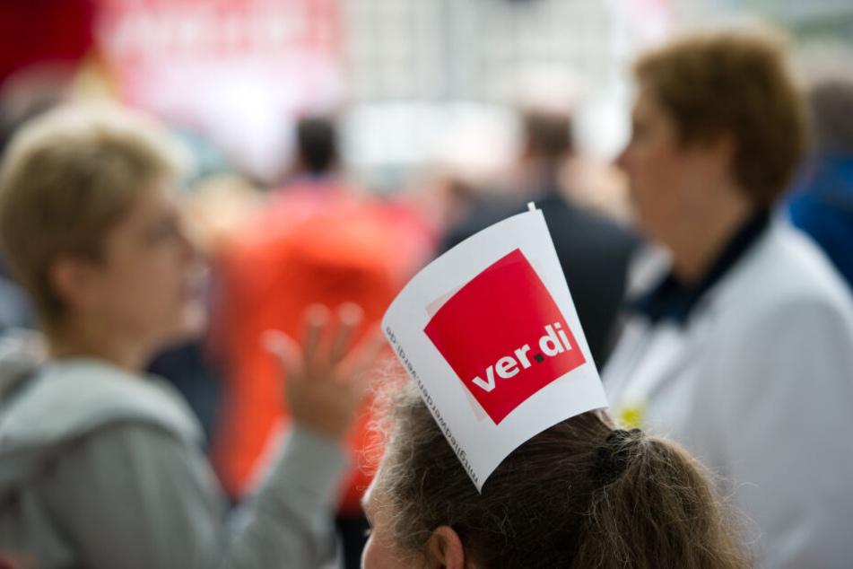 Die Gewerkschaft Verdi hat zum Streik aufgerufen (Symbolbild).