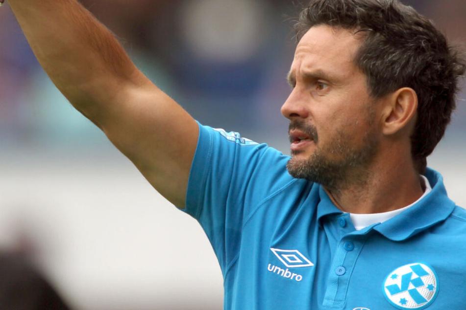Auch er probierte sich bereits als Kickers-Coach: Ex-Darmstadt-Trainer Dirk Schuster.
