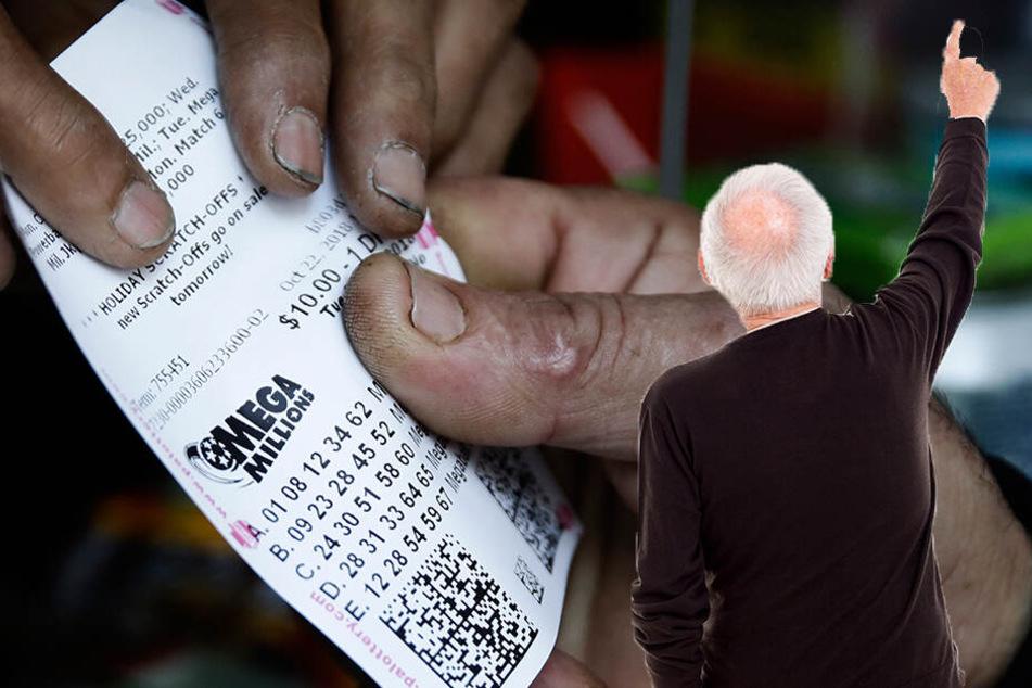 Opa knackt Millionen-Jackpot im Lotto, doch seine Enkelin verwechselt etwas Entscheidendes