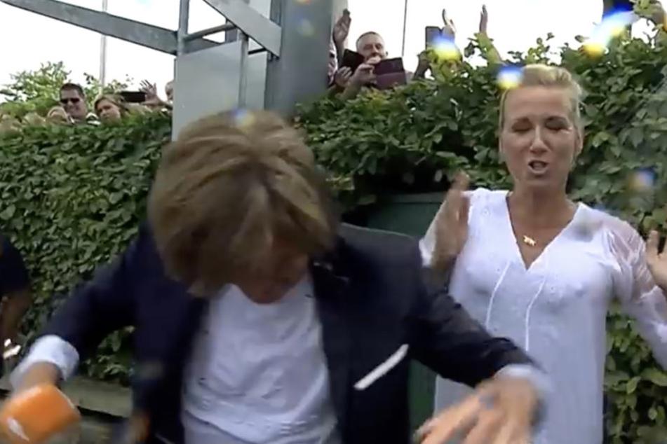 Nippel-Alarm! Kleid von ZDF-Moderatorin Andrea Kiewel