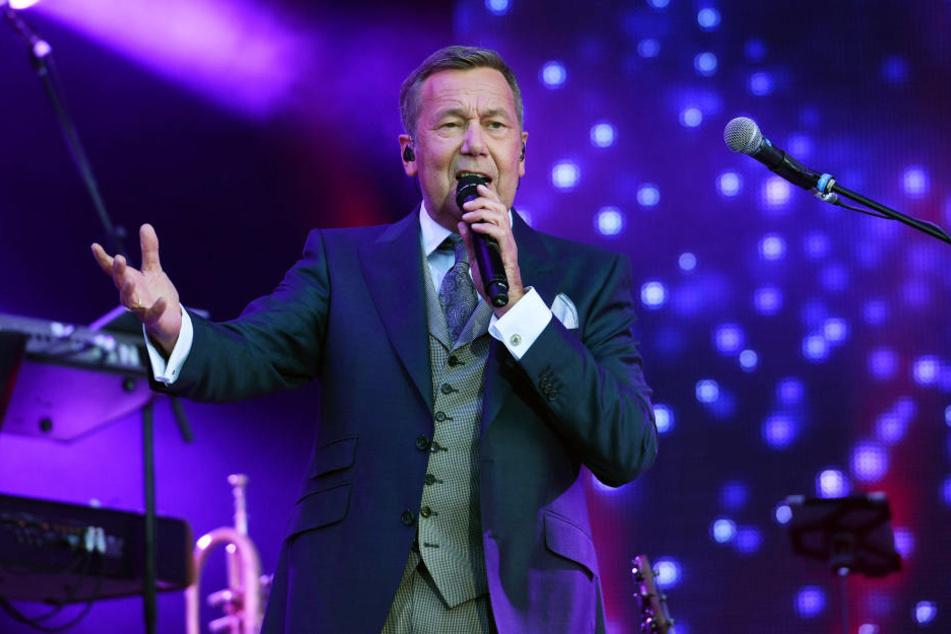Am Samstag wird Roland Kaiser in Chemnitz auf dem Hartmannplatz auftreten.