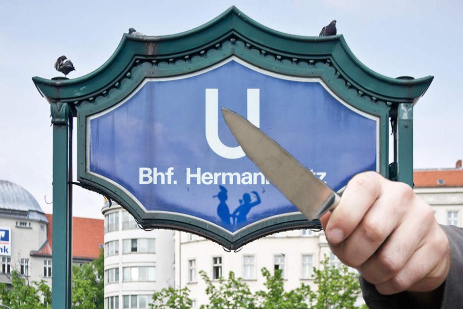 Mit einem Messer gingen die Angreifer auf einen Mann los. (Symbolbild)