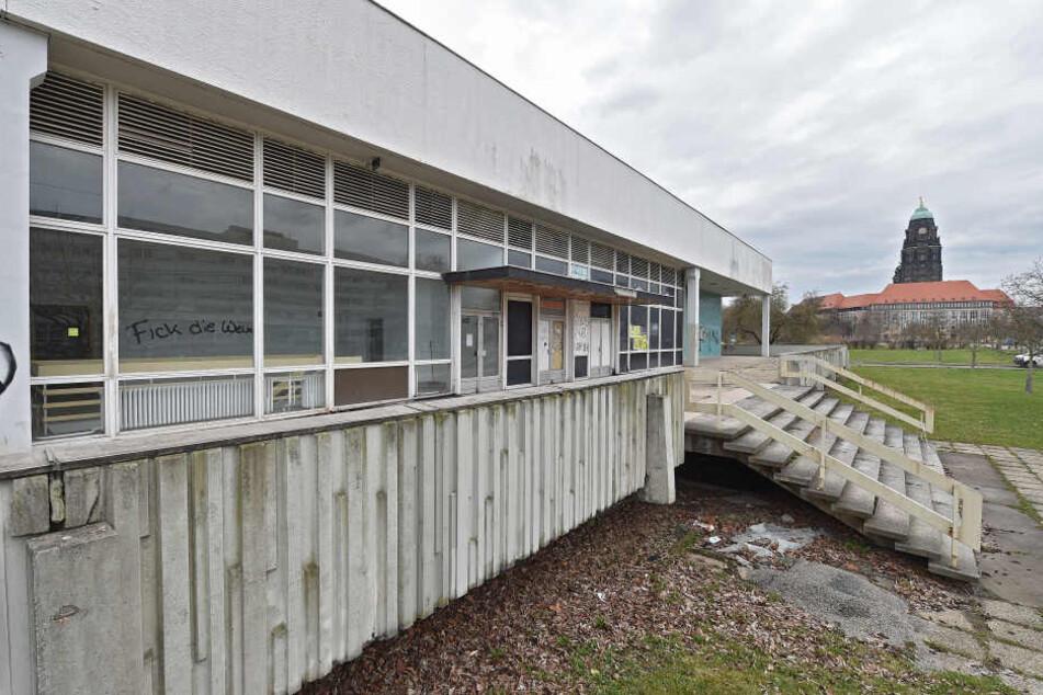 Die Stadt soll die Robotron-Kantine (am Hygiene-Museum) kaufen.