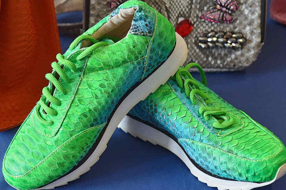 Über Geschmack lässt sich ja streiten. Unstrittig ist, dass die Einfuhr dieser Schuhe aus Pythonhaut verboten ist.