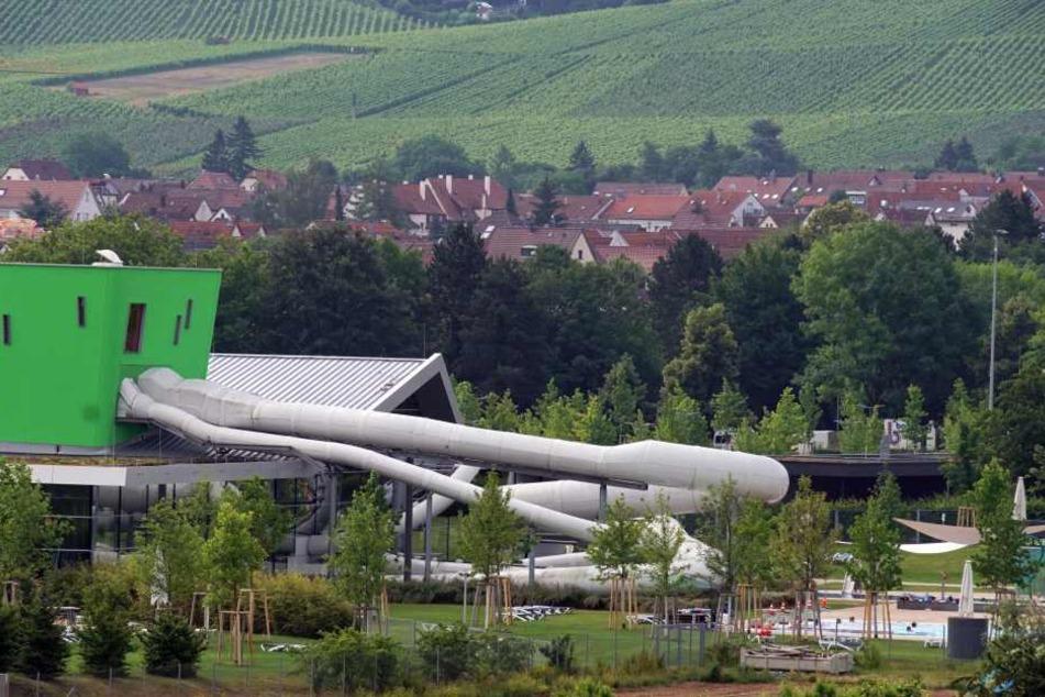 Das Freizeitbad in Fellbach, wo das Unglück sich ereignet hatte.