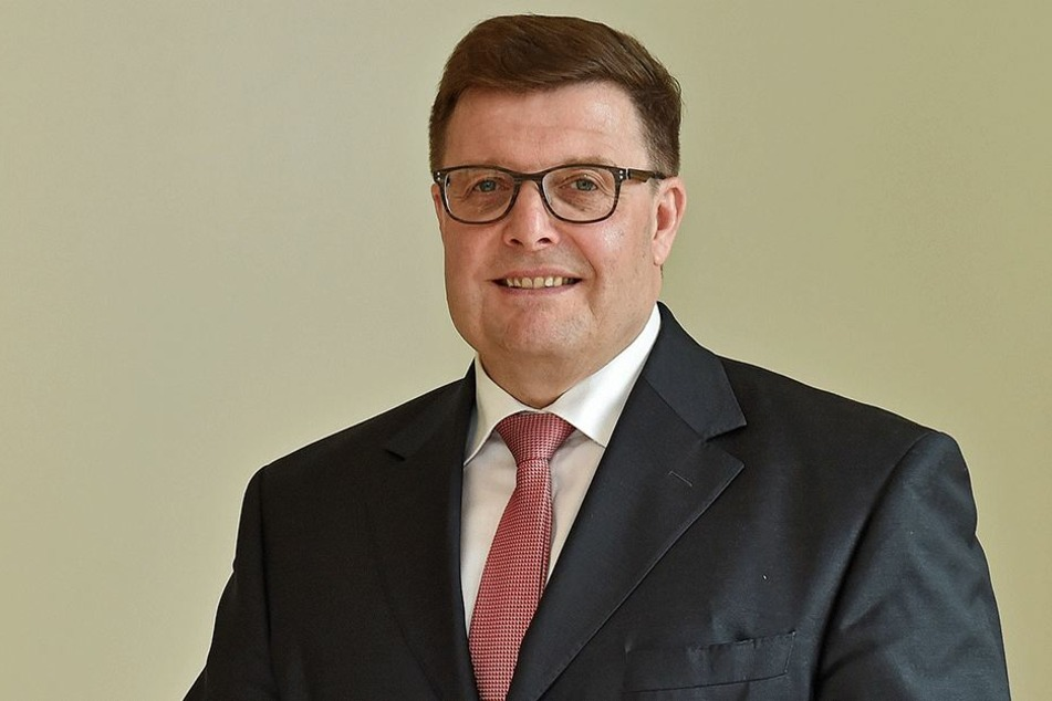 Joachim Hoof, Vorstandsvorsitzender der Ostsächsischen Sparkasse Dresden.