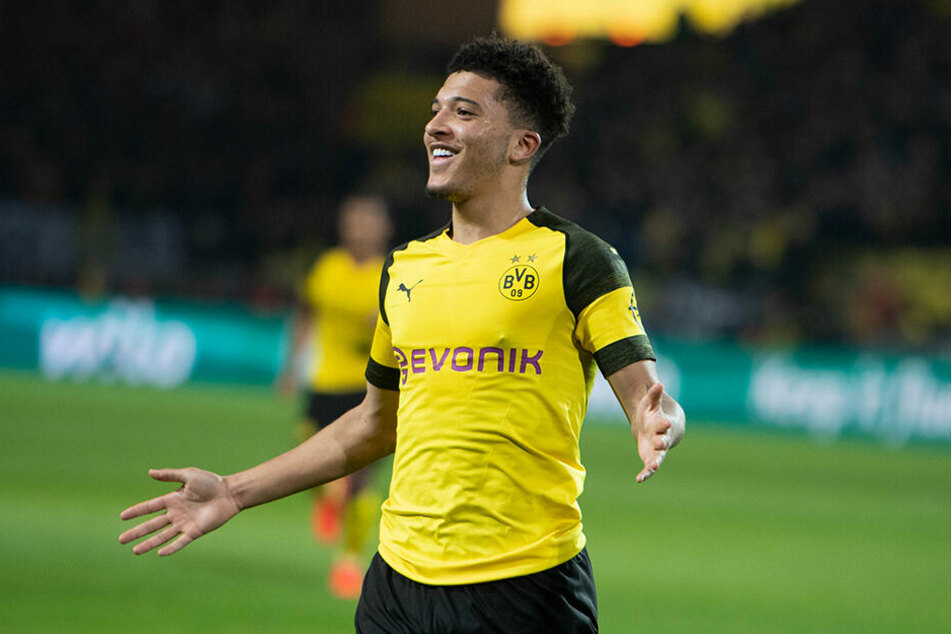 Der Durchstarter der vergangenen BVB-Saison: Jadon Sancho