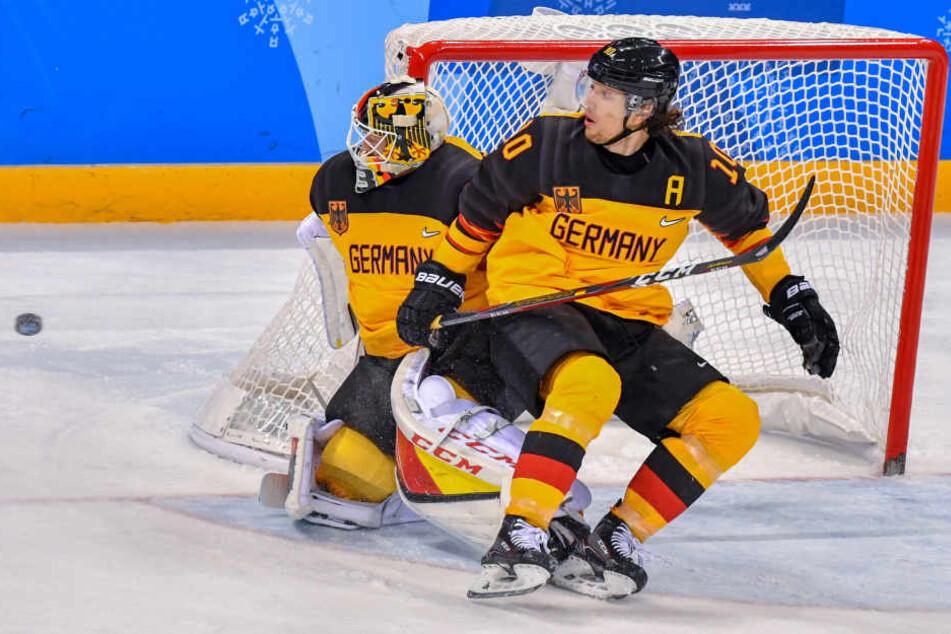 Torhüter Danny aus den Birken ist einer der großen Erfolgsgaranten des deutschen Teams.