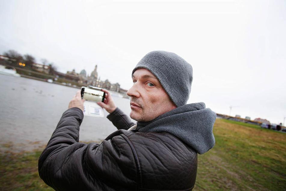 Machte eine Nessie-Beobachtung: Torsten Koj.