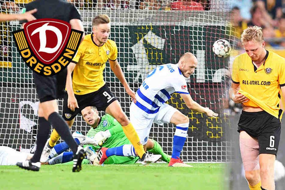 Dynamo siegt zum Auftakt, aber Hartmann schon wieder kaputt!