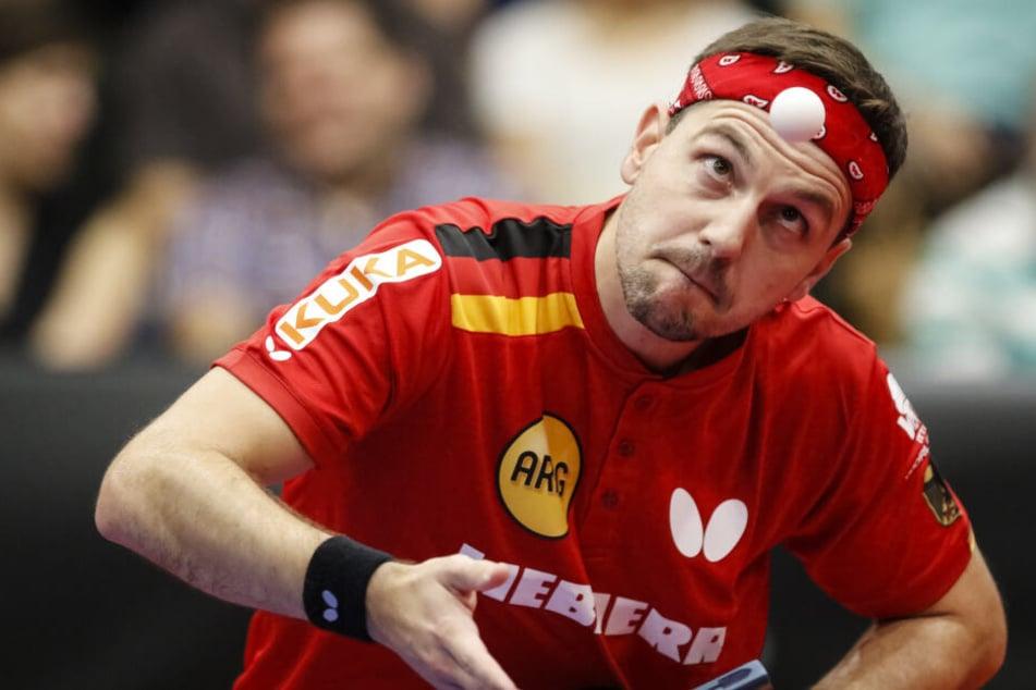 Timo Boll will noch drei bis vier Jahre Tischtennis spielen.