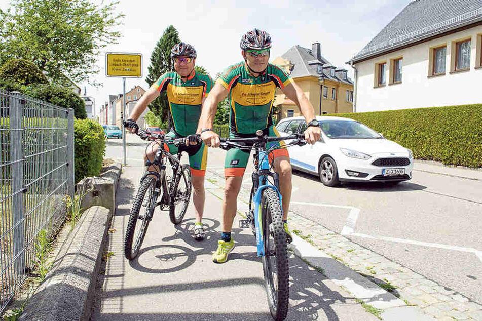 Limbach-Oberfrohna ist die mieseste Fahrrad-Stadt in ganz Deutschland.