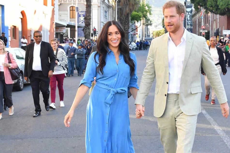 Herzogin Meghan (38) und Prinz Harry (35) bei ihrer Afrikareise. (Archivbild)