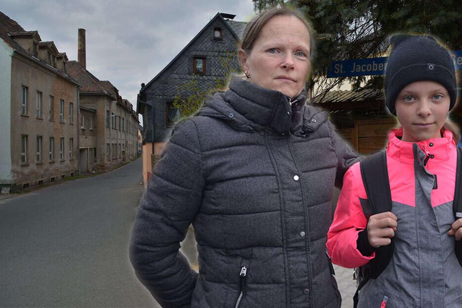 Nach Entführung einer Schülerin: Ein Dorf in Angst, Eltern in Aufruhr