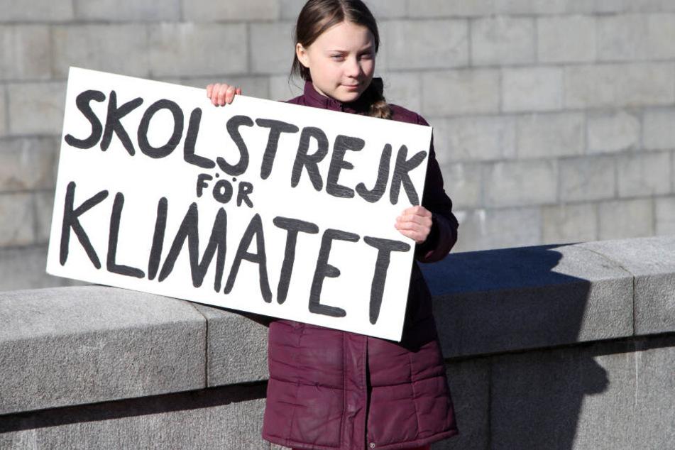 Klimaaktivistin Greta Thunberg ist am Freitag zu Besuch in der Hauptstadt.