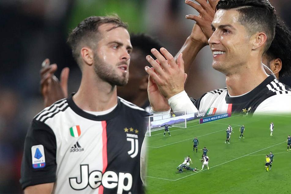 Kreisliga oder Serie A? Juventus Turin mit dem wohl lustigsten Slapstick-Tor des Jahres!