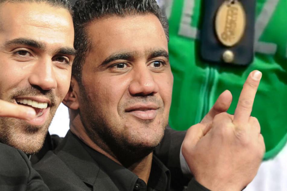 Arafat Abou-Chaker und Bushido waren einst jahrelang Geschäftspartner. (Bildmontage)