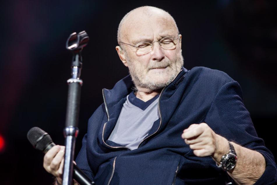 Phil Collins in der Mercedes-Benz Arena.