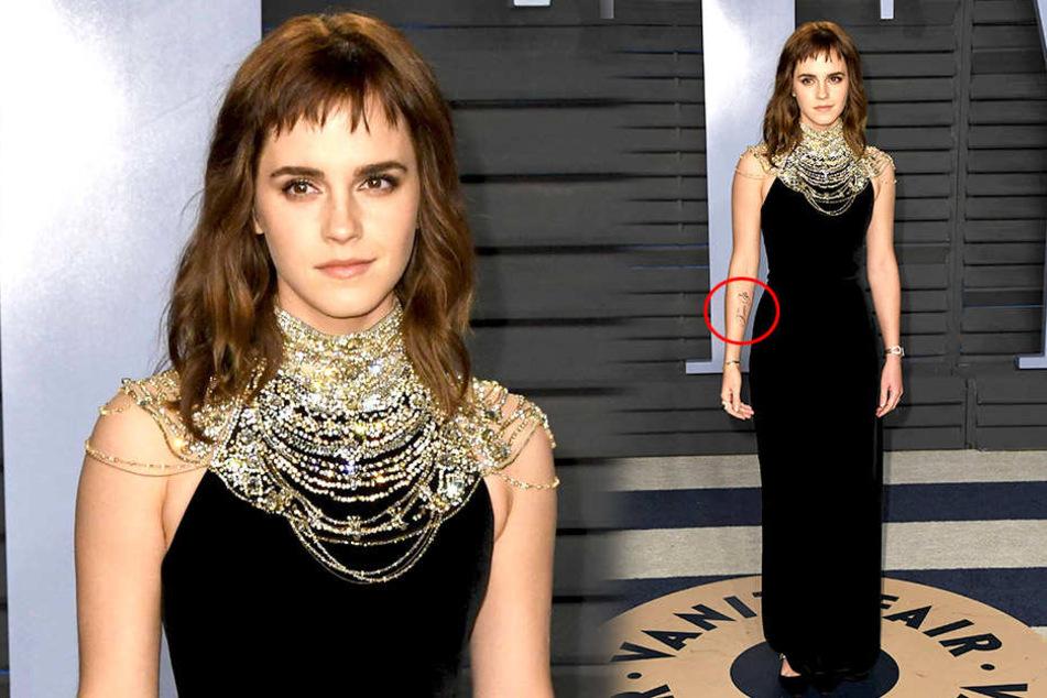 Emma Watson will mit Tattoo ein Zeichen setzen und vermasselt es