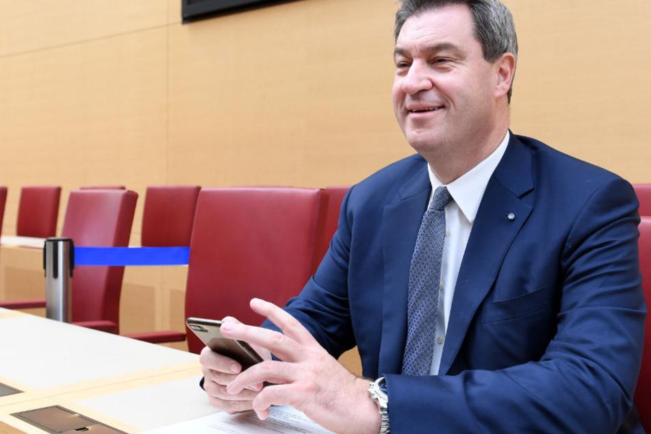 Markus Söder dürfte am Anfang des Jahres 2019 auch CSU-Chef werden. (Archivbild)
