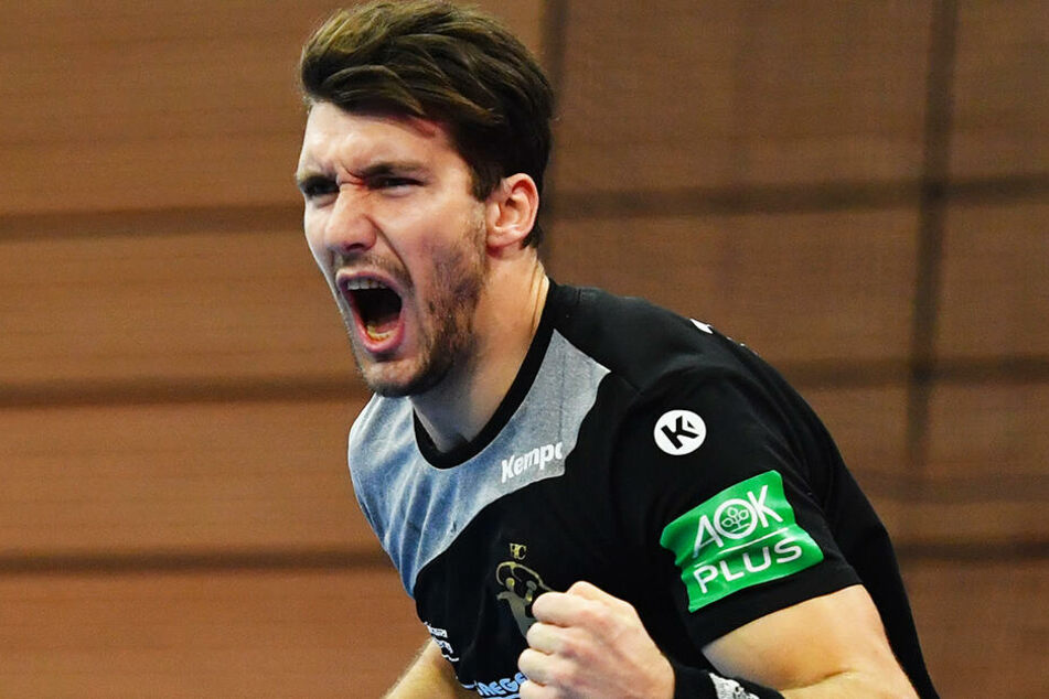 Gabriel De Santis erzielte eine Minute vor Schluss den HCE-Siegtreffer.