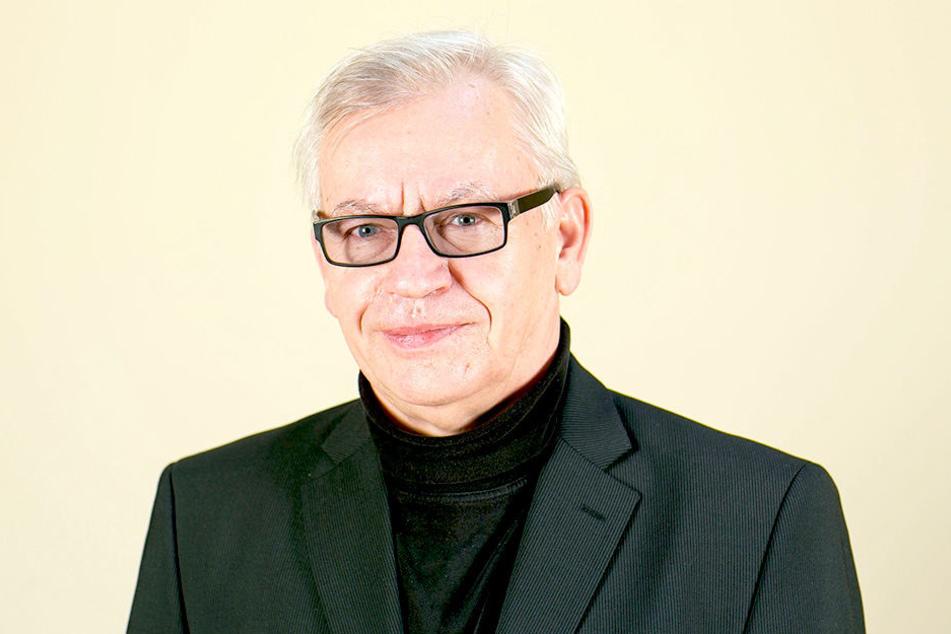 """Kämpft gegen den aus seiner Sicht """"Geschichtsrevisionismus"""": Stadtrat Gottfried Ecke (69)"""