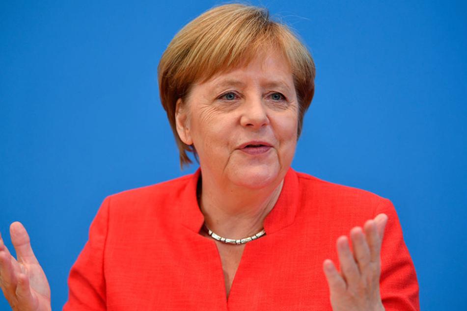 Bundeskanzlerin Angela Merkel ist Ehrengast des diesjährigen Mediensommerfestes der sächsischen Landtags-CDU.