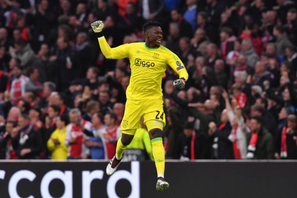 In der letzten Champions League-Saison jubelte sich der Keeper bis ins Halbfinale.
