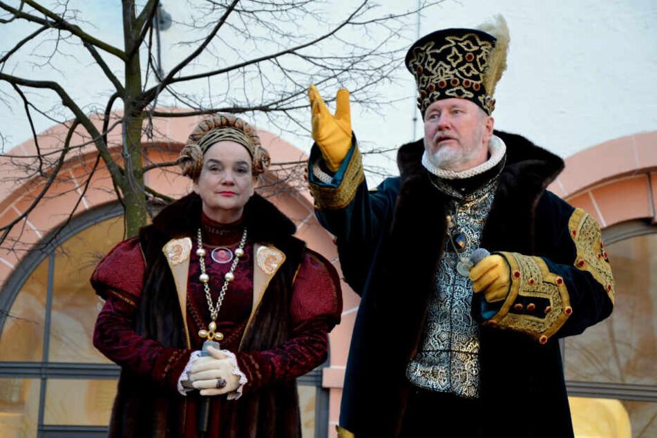 Chemnitz: Des Kurfürsten edelste Kleider auf Schloss Augustusburg