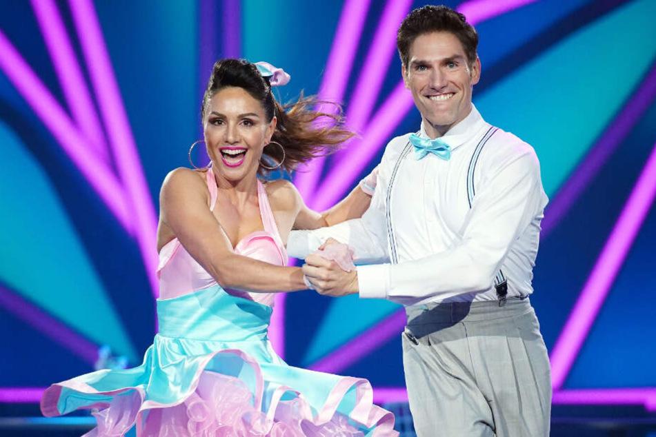 """Nazan Eckes (42) und und Christian Polanc (41) sind in der zehnten """"Let's Dance""""-Show rausgeflogen."""
