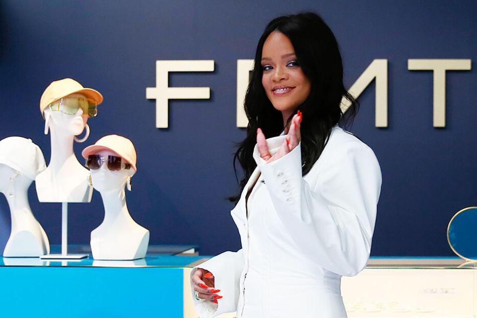 Rihanna im Mai diesen Jahres, als sie ihre erste Modelinie präsentierte.
