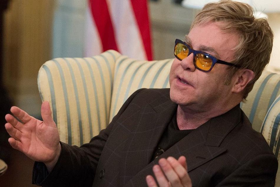Wegen G20: Udo Lindenberg muss weg, und Elton John singt nicht