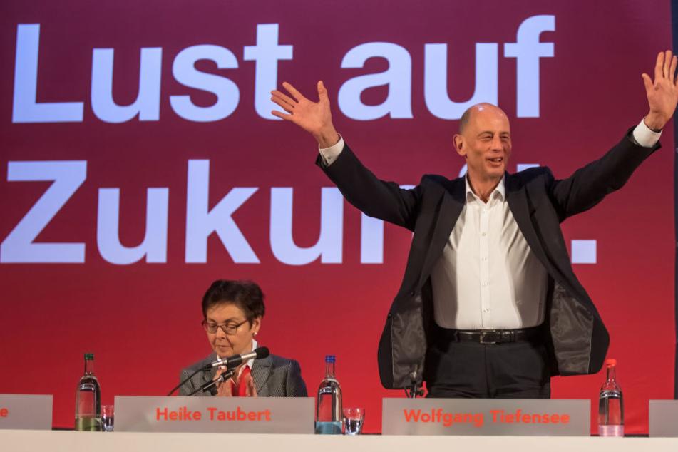 Wolfgang Tiefensee soll in Arnstadt zum Spitzenkandidaten der SPD gewählt werden.