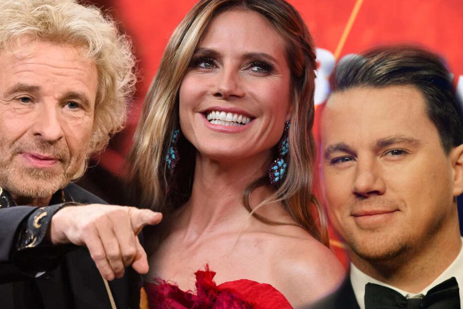 Das große GNTM-Finale: Heidi Klum bekommt Besuch von etlichen Promis