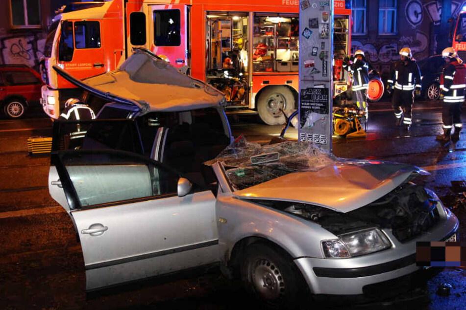 Einsatzkräfte der Feuerwehr waren vor Ort.