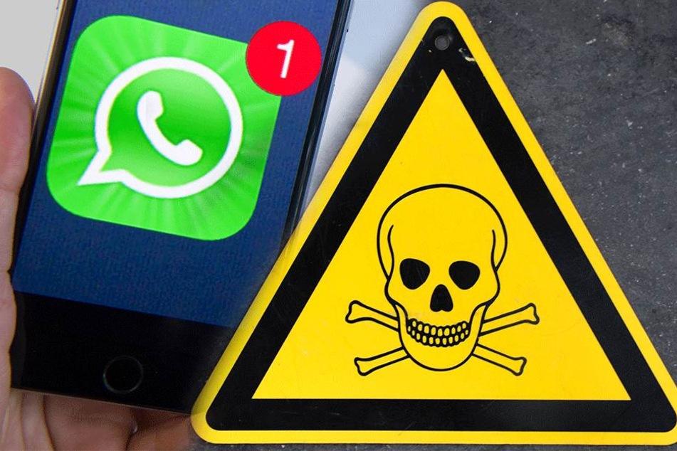 Das tödliche Spiel erreicht die Nutzer meist über WhatsApp.