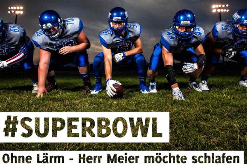 Witzige Kampagne der Polizei zum Super Bowl.