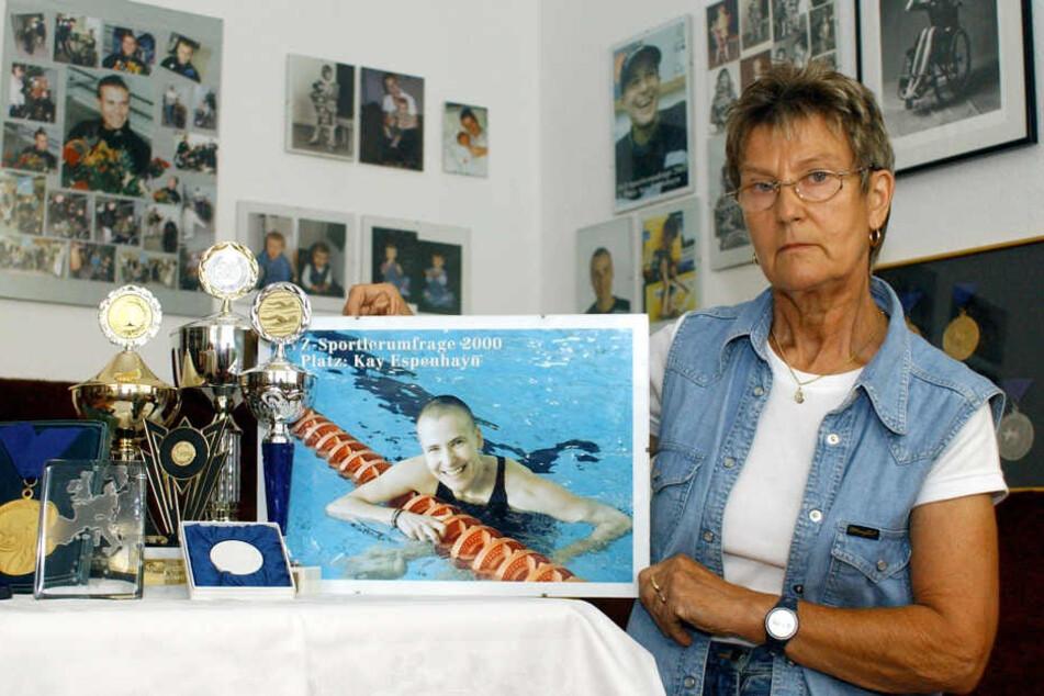 Mutter Monika hält die Erinnerung an ihre viel zu früh verstorbene Tochter aufrecht.