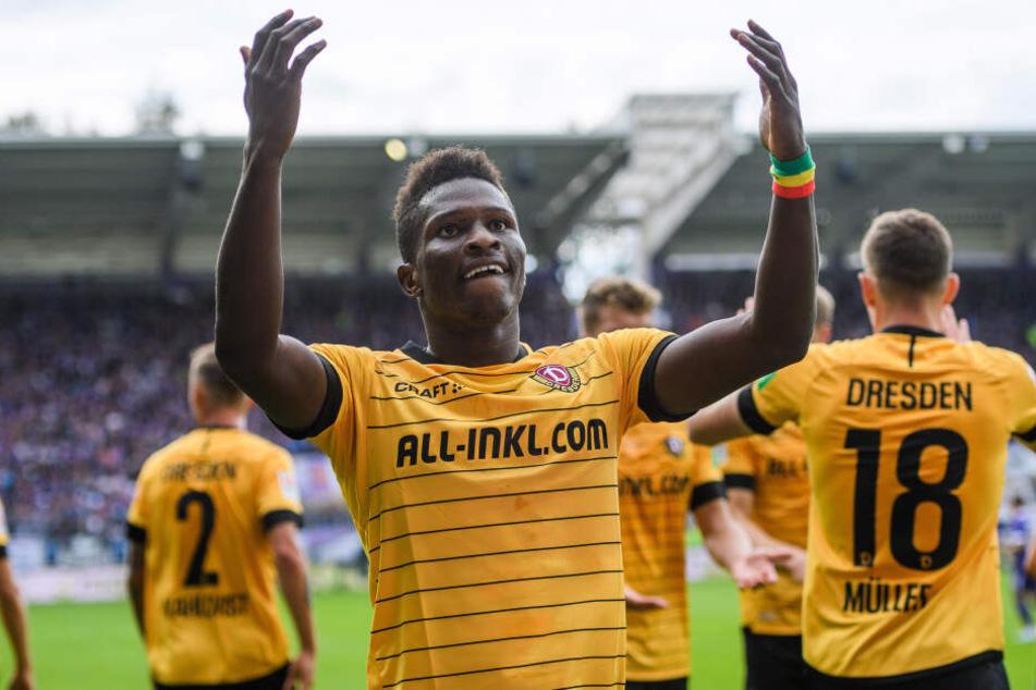 Traf bisher sechsmal und ist bester Dynamo-Schütze: Moussa Koné.